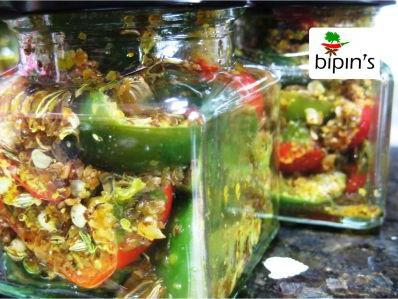 Bipins Marinated chilli preserve