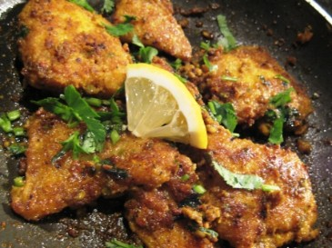 Fish Machi Tikka pan fried spicy fish curry