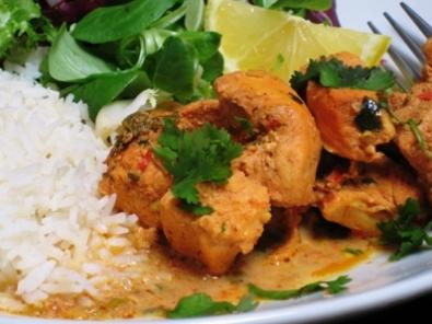 Authentic Chicken Coconut Chicken Curry recipe