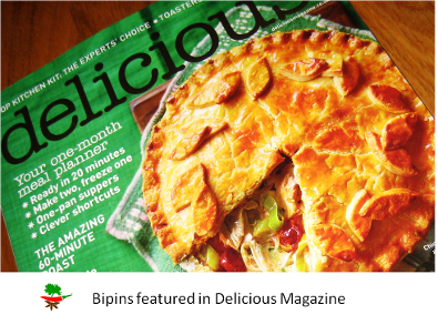 Bipins All Fresh Curry Paste in Delicious Magazine