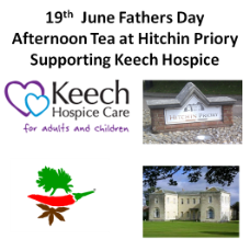 Fathers Day Afternoon Tea at Hitchin Priory Supporting Keech Hospice Bipins Curry Recipe ideas