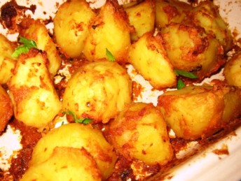 Fluffy Jeera Roast Aloo
