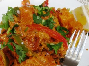 bipins masala low fat healty pumpkin jafrazi curry recipe