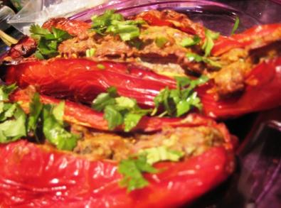 bipins spiced filled sweet peppers curry recipe