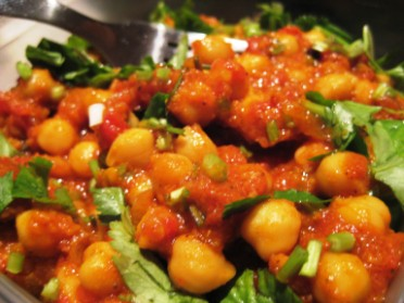 chickpea shabji chickpea curry recipe