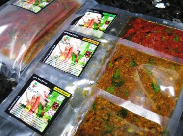 Fresh Curry Paste Green Eco-Friendly packaging
